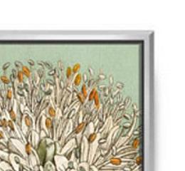 botanique-bleu-framed-canvas-detail