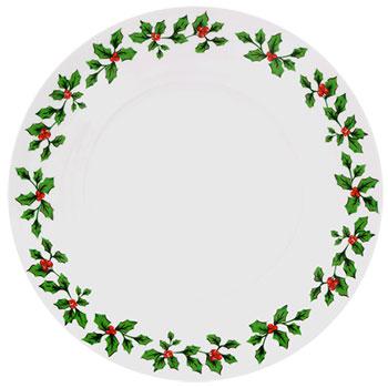 Holly Dinner Plate Set Salty Home