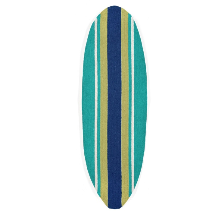Surfboard Area Rug: Indoor – Outdoor Surfboard Rug Runner