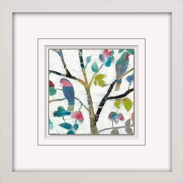 Woodland Birds I Framed Art | Salty Home