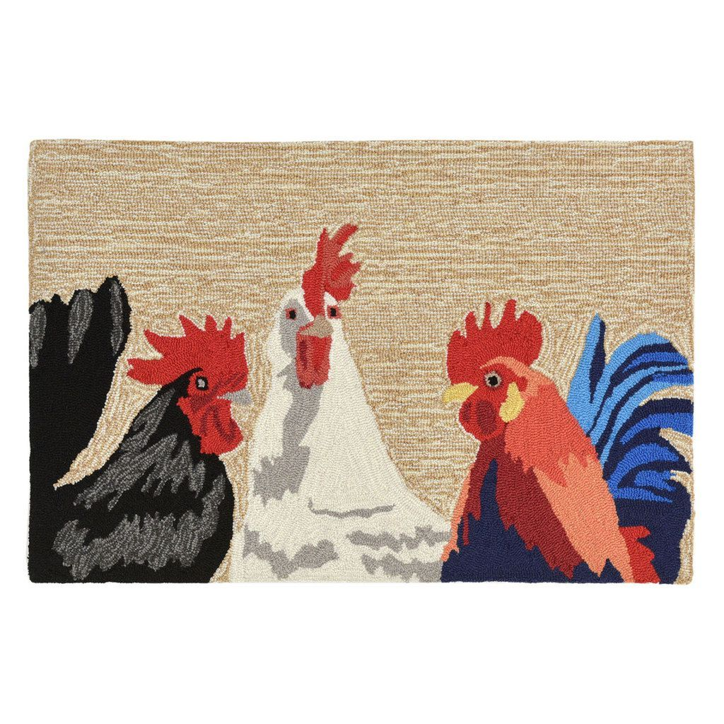 Rooster Outdoor – Indoor Rug Collection
