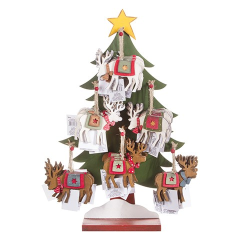 Christmas Tree Ornament Display Holder
