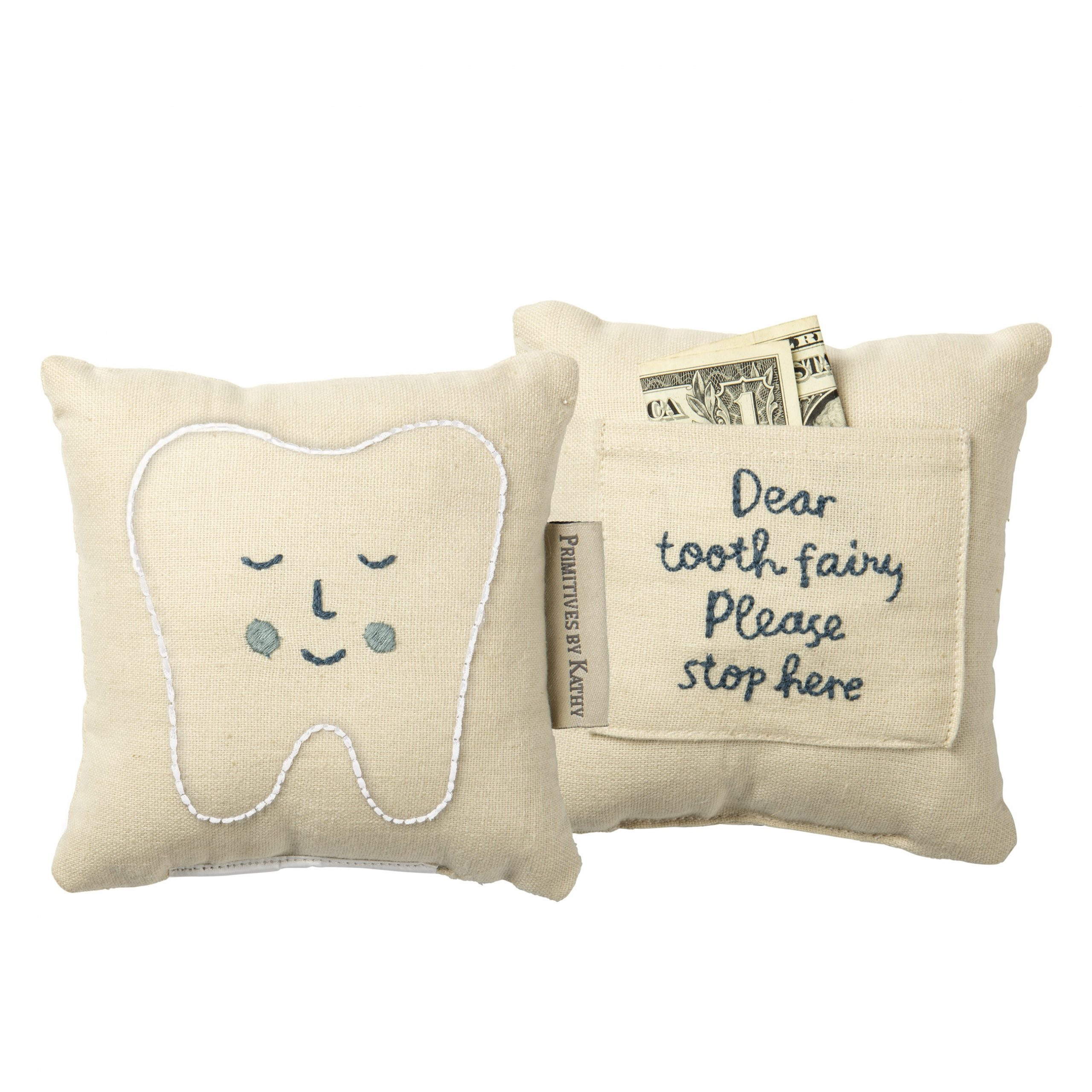 Blue Patriots Football Tooth Fairy Pillow with Tooth Pocket New England Patriots Tooth Fairy Pillow Ready to Ship